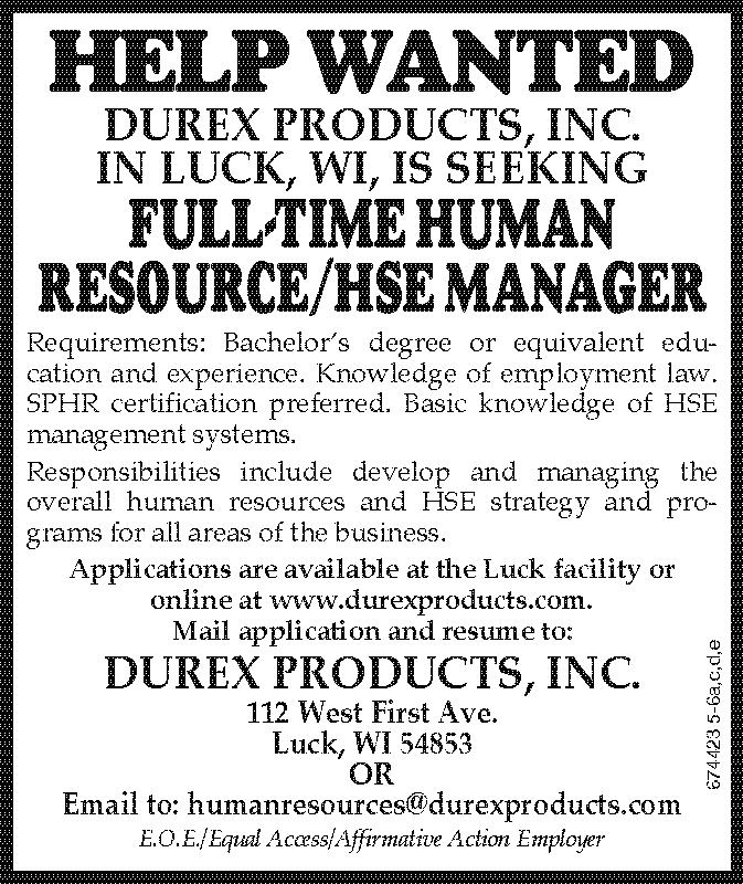 HR-HSE Advertisement