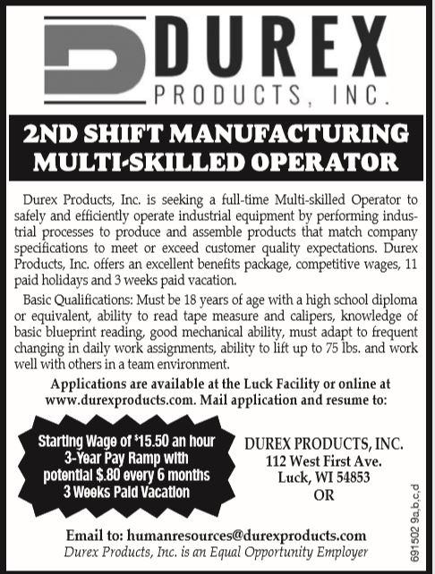 2nd Shift Ad